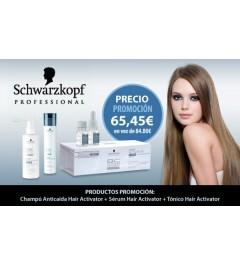 Tratamiento Hair Activator Schwarzkopf anticaida