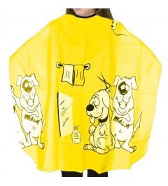 Capa Infantil Perros Amarilla