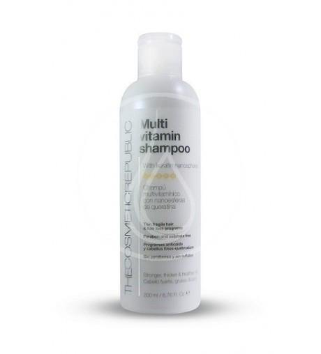 Champú Multivitamínico (Vitaminas A, B, C, E & F)