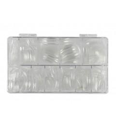 Caja Tips Transparentes 500 uds