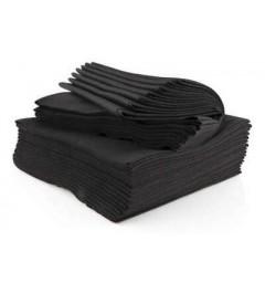 Toalla Spunlace Negra 40x80 (100uds)