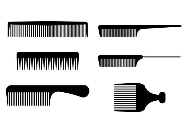 productos de peluqueria vectores