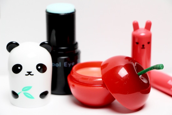 Selección de cosmética coreana de la marca TonyMoly
