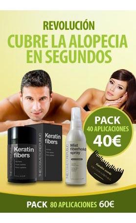 Fibras capilares Keratin - The Cosmetic Republic