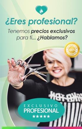 Precios exclusivos a profesionales de peluquería