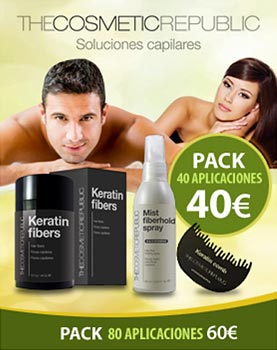 Fibras capilares Keratin - The Cosmetic Republic