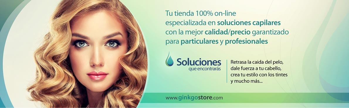 La tienda de peluquería 100% online Ginkgo Store